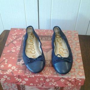 Sam Edelman Blue Flats Size 9